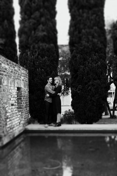 Engagement Shoot B&W for Print
