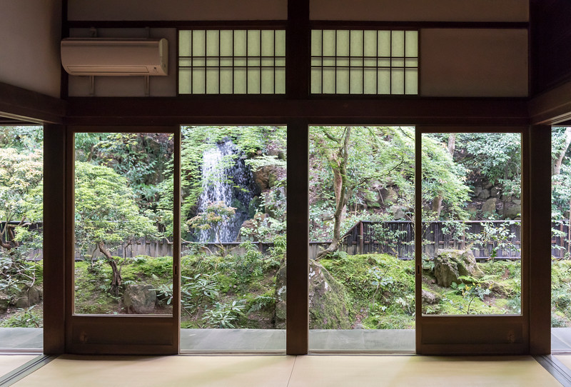 Nanzen-in Buddhist temple at Nanzen-ji complex in Kyoto, Japan