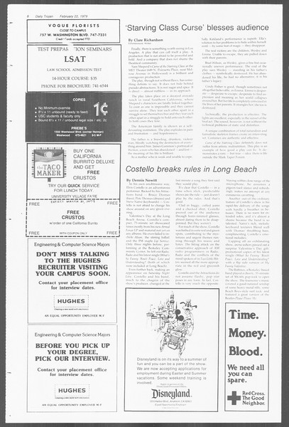 Daily Trojan, Vol. 76, No. 11, February 22, 1979