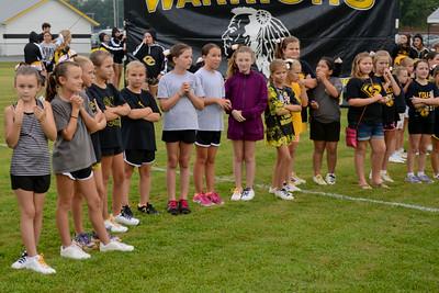 CCHS Camp  Cheer pregame