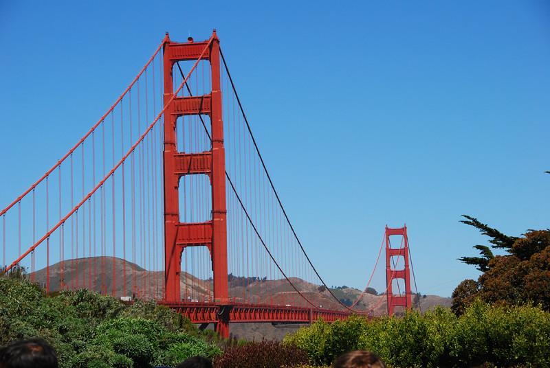 The Golden Gate Bridge, from Presidio.