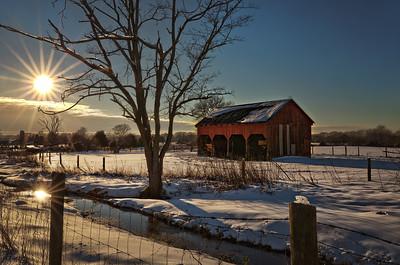 Sunset Barns
