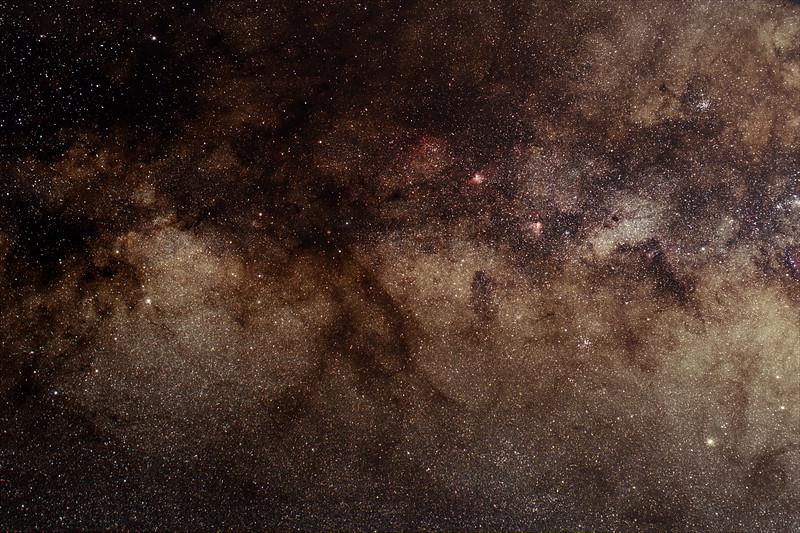 Scutum - Sagittarius region - 22/5/2020 (Processed Stack)