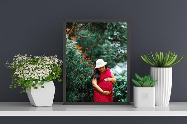 Maternity photo frames
