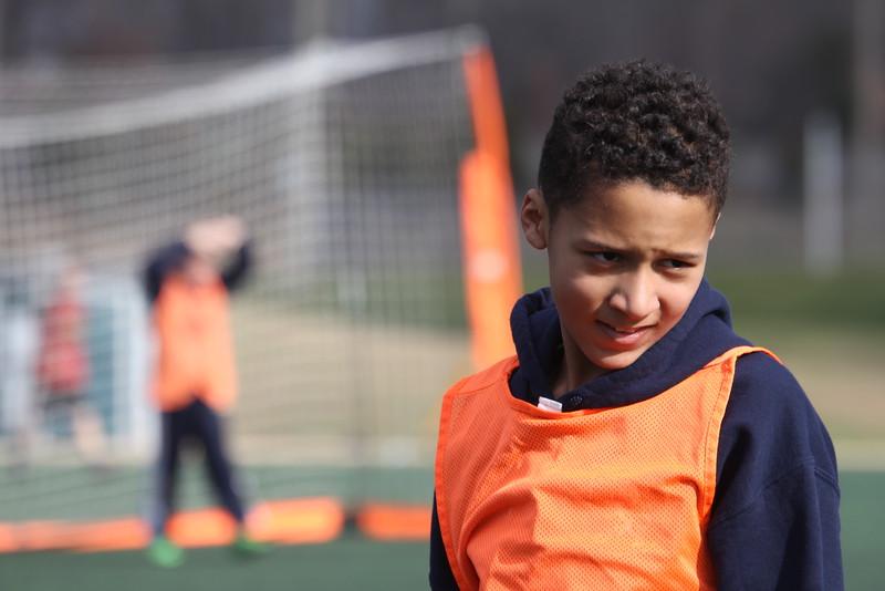 Edward IV at soccer practice