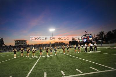 Bentonville Tigers at Springdale Har-Ber Wildcats - 09/21/2012