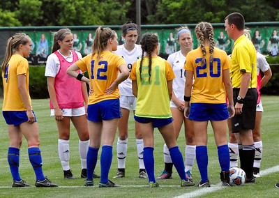 OP Birmingham Marian vs. GR FHN girls soccer D2 title game