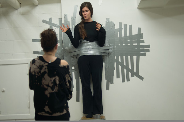 Duct Taped to Wall
