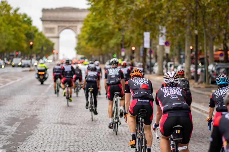 Bloodwise London to Paris 2019