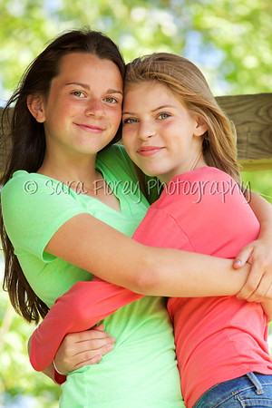 Best Friends - Madi and Anna