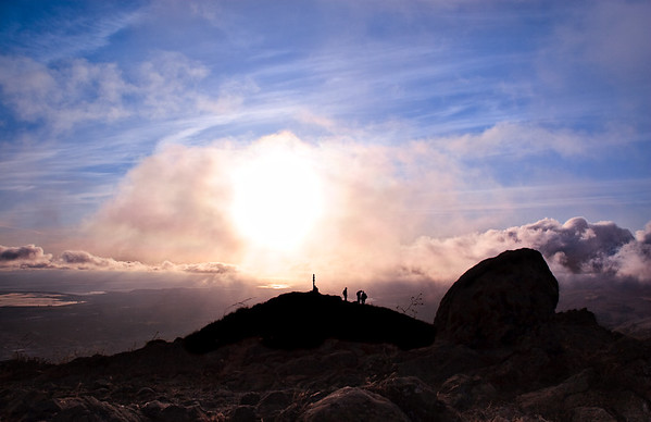 Mission Peak Clouds