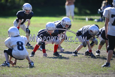 10/9/2011 C Black Silver Mudhogs Youth Football
