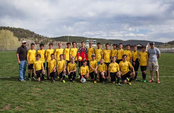 PSMS Soccer Team 2014
