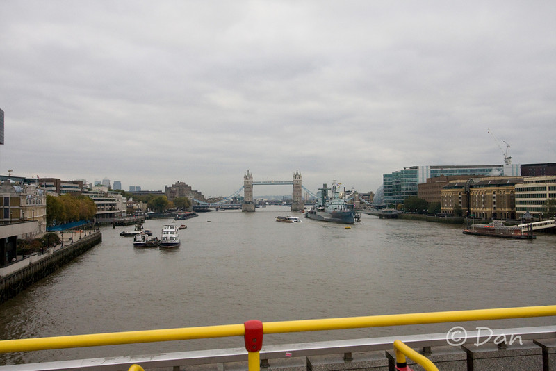 River Thames and the Tower Bridge
