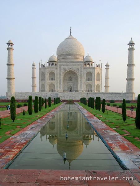 Taj Mahal and reflection (4).jpg