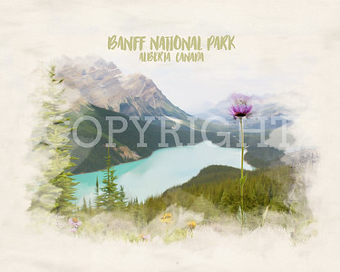 National Parks Watercolors
