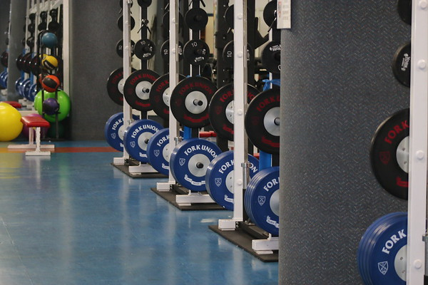 Weight Room Additions -- Jan. 12, 2018