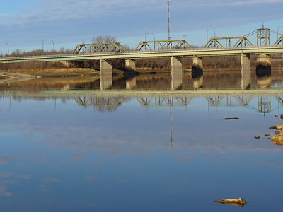 The Saskatchewan River (Manitoba)