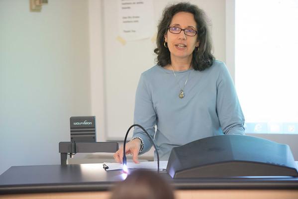 10/18/13 Professor Tina Colaizzo-Anas' Dietetics and Nutrition Class