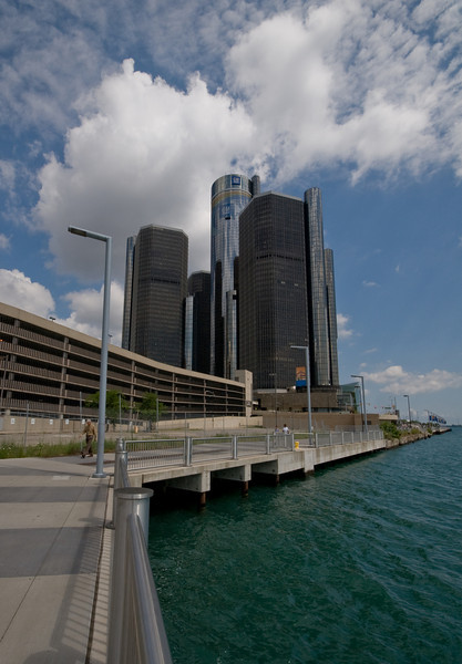 Detroit River and Belle Isle