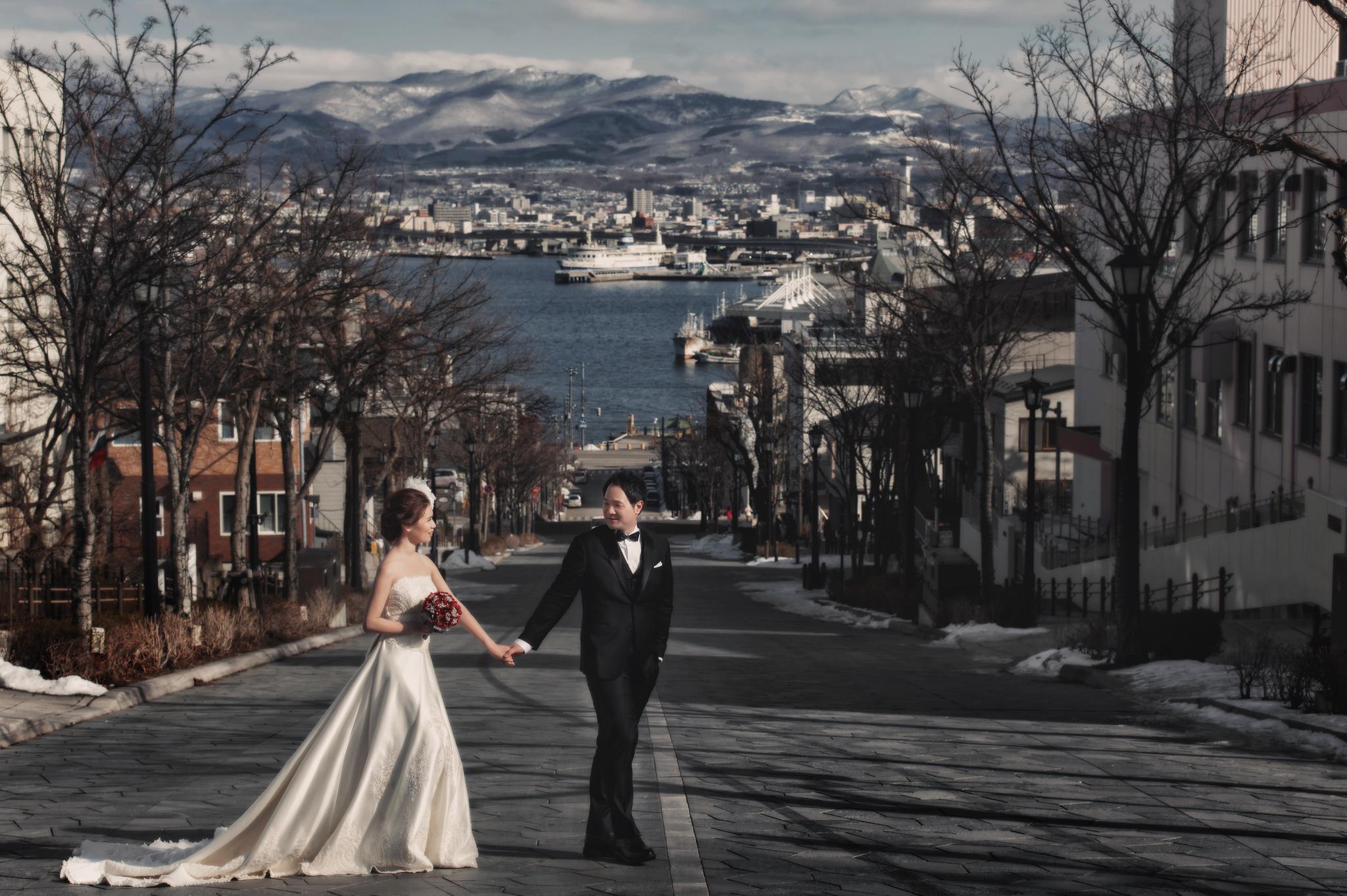 Donfer, 海外婚紗, World tour, 東法, EASTERN WEDDING, 世界旅拍, Hokkaido, 北海道婚紗