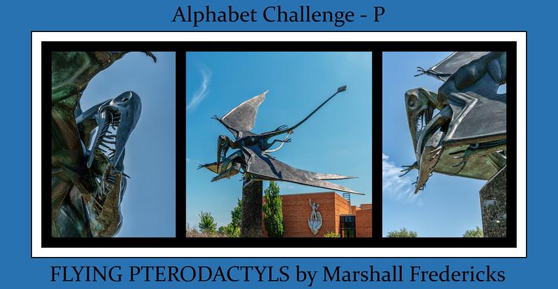 Alphabet Challenge:  P – Pterodactyls (Monday, 9/10/18)