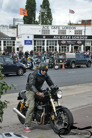 Ace cafe Harley Day