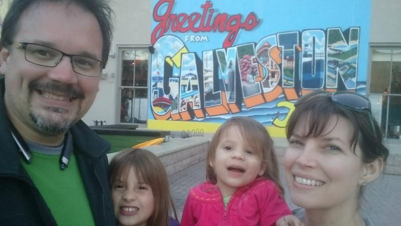 Spring Break with the Girls in Galveston