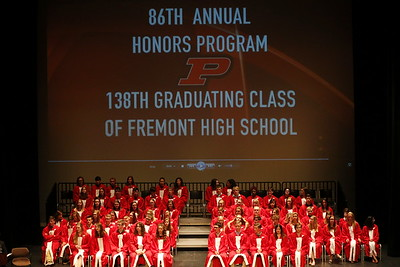 High School Seniors - 5/16/2017 86th Annual Honors Program