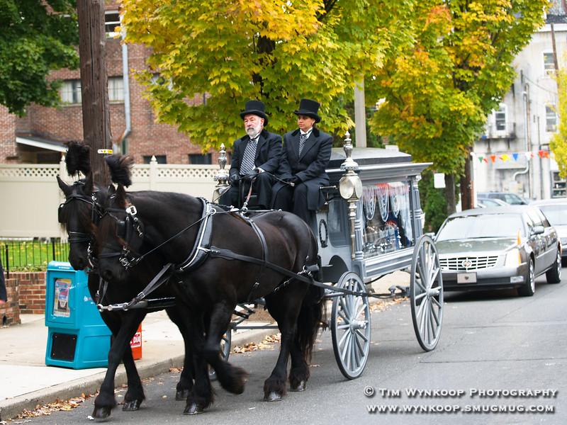 Veronica Casey Wynkoop Funeral, November 12, 2007