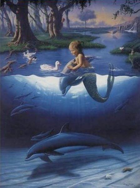 Cards_SandraVehrli_MermaidChildDolphins.jpg