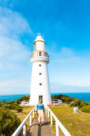 Are you after a unique accommodation experience? Spend the night as a lightkeeper at the Cape Otway Lightstation in the Lightkeepers Cottage #lighthouse #greatoceanroad #accommodation #visitvictoria