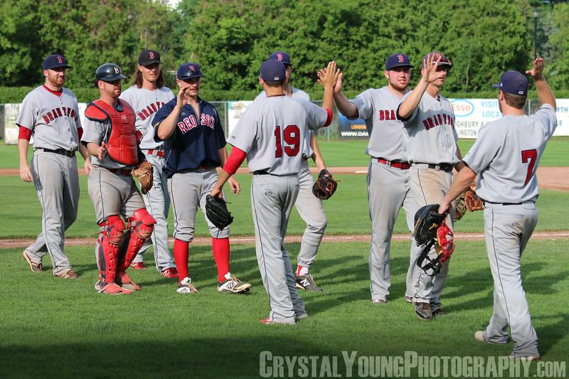 Brantford Red Sox at London Majors July 19, 2015