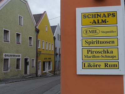 Mo 29.7.13, Tag 3: Obernberg (A) - Passau (D) - Inzell (A), 85km