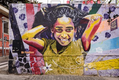 Murals of Valparaiso, Chile