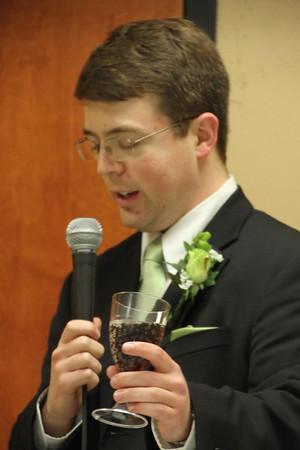 Crawfiord Wedding Receotion 2012
