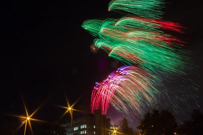 Paisley Firework Display 2016