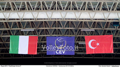 Calzedonia VERONA - Galatasaray HDI ISTANBUL | CEV Challenge Cup