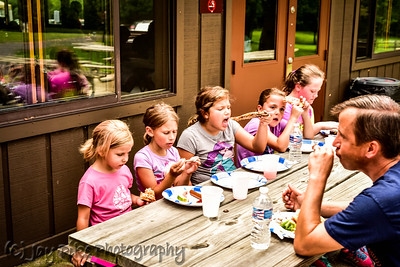 July 26, 2015 - PSC U9 Girls - Cookout