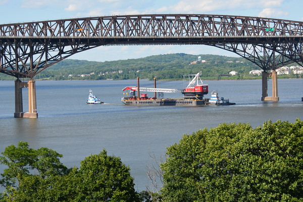 At the Newburgh - Beacon Bridge NY