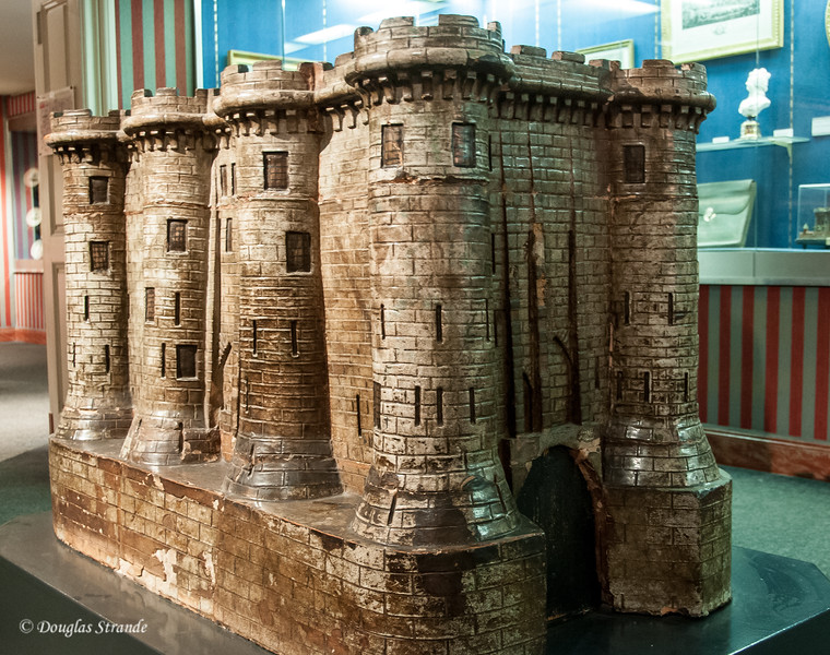 Model of the Bastille on display in the Carnavalet Museum