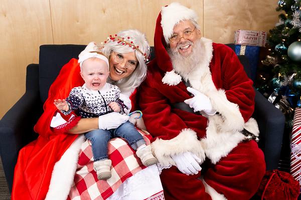 December 5, 2019 - NAV Santa Portraits