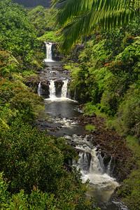 Umauma waterfalls