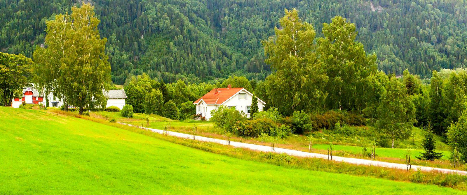 北欧的居住环境 住在这里等于住在童话世界