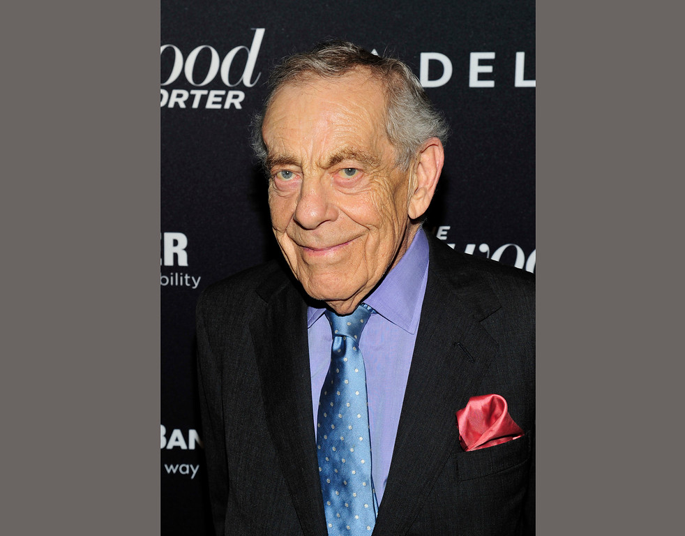 """. In this April 10, 2013 file photo, CBS \""""60 Minutes\"""" correspondent Morley Safer appears at The Hollywood Reporter Celebrates the 35 Most Powerful People in Media in New York.(Charles Sykes/ The Hollywood Reporter via AP)"""