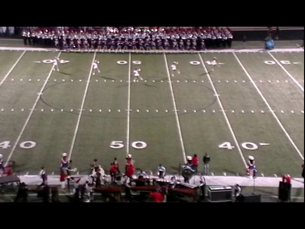 Oct. 3 Plano East Halftime Video