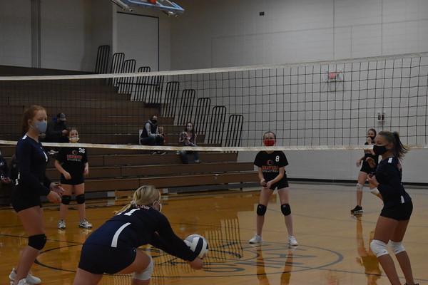 7th grade volleyball vs. Beatrice