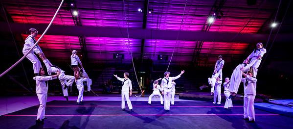 Sailor Circus Celebrates 70! Dress Rehearsal