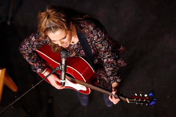 American Idol's Katherine Winston Performs at Lenox High School-031115