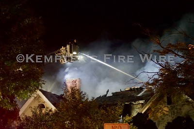 3 Alarm Fire - Grandview Ave, Rye NY, 9/14/19